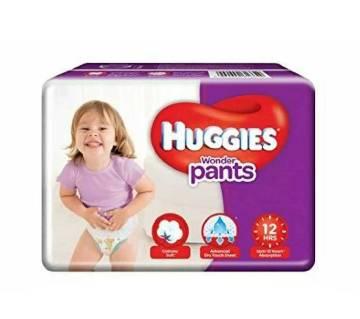 Huggies Wonder Pants L-32 Size(9-14kg)-(5% VAT Included on Price)-2101719
