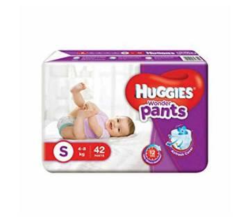 Huggies Wonder Pants S-42 Size(4-8kg)-(5% VAT Included on Price)-2101721