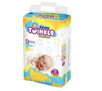 Savlon Twinkle B.Diaper S(Up to 8kg)44Pc-(5% VAT Included on Price)-2101953