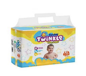 Savlon Twinkle B.Diaper XL(11-25kg)32Pcs-(5% VAT Included on Price)-2101952