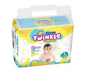 Savlon Twinkle Baby Diaper L(7-18kg)26pc-(5% VAT Included on Price)-2101939