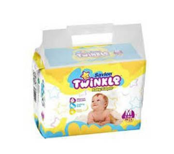 Savlon Twinkle Baby Diaper M(5-9kg)28pcs-(5% VAT Included on Price)-2101850