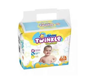 Savlon Twinkle Baby Diaper XL(11-25k)24p-(5% VAT Included on Price)-2101940