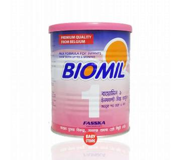 Biomil 1 Infant Milk 400g Tin-(5% VAT Included on Price)-2200061
