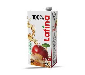Latina Apple Juice 1000ml (Tetra)-(5% VAT Included on Price)-2302612