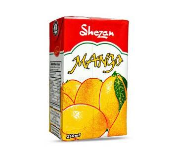Shezan Juice Mango Tetra Pack 250ml-(5% VAT Included on Price)-2300488