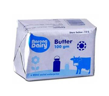 Aarong Butter 100gm-(5% VAT Included on Price)-2500086