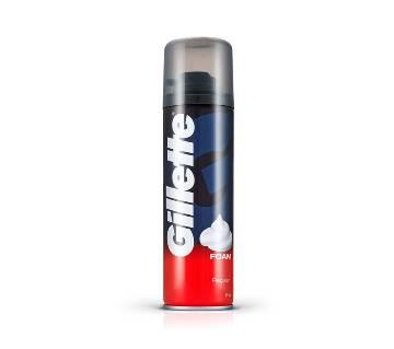 Gillette Foam 196 gm Regular-(5% VAT Included on Price)-3003071