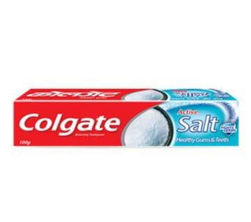 Colgate Active Salt Toothpaste 100gm-(5% VAT Included on Price)-Colgate Active Salt Toothpaste 100gm-(5% VAT Included on Price)-3003589