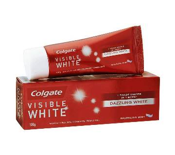 Colgate Visible White T.Paste Mint 100g-(5% VAT Included on Price)-3009433