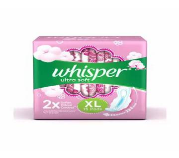Whisper Ultra Soft XL 15Pcs Pads-(5% VAT Included on Price)-3015218