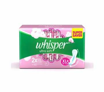 Whisper Ultra Soft XL+ 30Pcs Pads-(5% VAT Included on Price)-3015220
