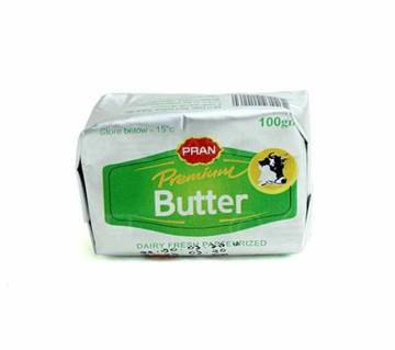 Pran Premium Butter 100g-(5% VAT Included on Price)-2500834