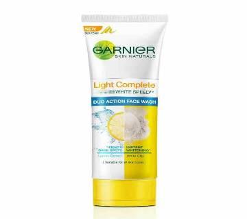 Garnier White Complete DA Face Wash 100g-(5% VAT Included on Price)-3013477
