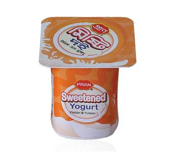 Pran Sweetened Yogurt Cup 100g-(5% VAT Included on Price)-2500935