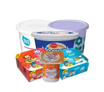 Shokti+ Sweetened Yogurt Combo Pack-(5% VAT Included on Price)-2501226