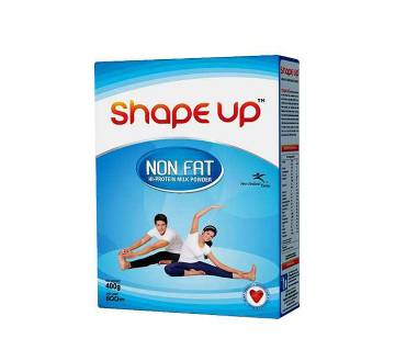Shape Up Non Fat Milk Powder 400g-(5% VAT Included on Price)-2500284