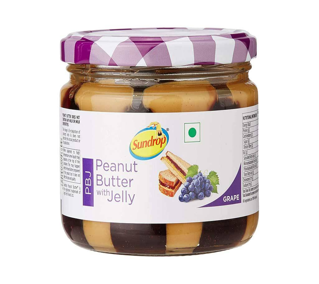 Sundrop পীনাট বাটার Grape Jelly 340g-(5% VAT Included on Price)-2814711 বাংলাদেশ - 1145804