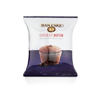 Dan Cake Chocolate Muffin 50g-(5% VAT Included on Price)-2808767