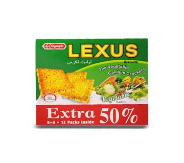Olympic Lexus Vegetable Crackers 240Gm-(5% VAT Included on Price)-2805867