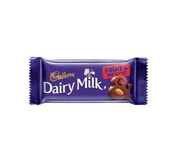 Cadbary D. Milk Fruit&Nut Choco 36g-(5% VAT Included on Price)-2811031