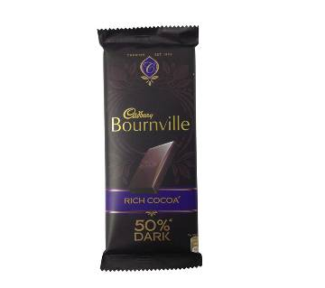 Cadbary Bournville 50% Dark 80g-(5% VAT Included on Price)-2814383