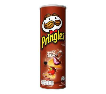 Pringles BBQ Potato Chips 147g-(5% VAT Included on Price)-2811572