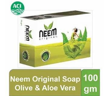 Neem Original Olive & Aloe Vera Soap100g-(5% VAT Included on Price)-3015725