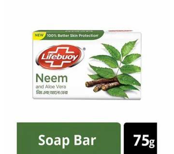 Lifebuoy Soap Neem Aloe Vera 75g-(5% VAT Included on Price)-3015335