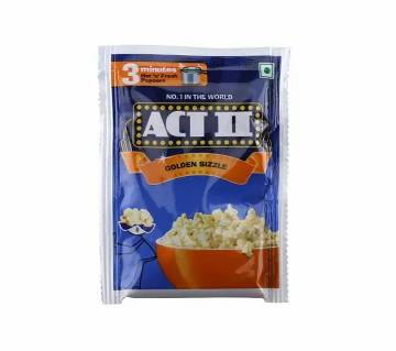 ACT II Golden Sizzle Popcorn 50g-(5% VAT Included on Price)-2802826