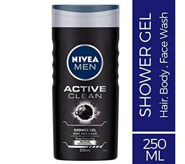 Nivea Active Clean Shower Gel 250ml-(5% VAT Included on Price)-3011696