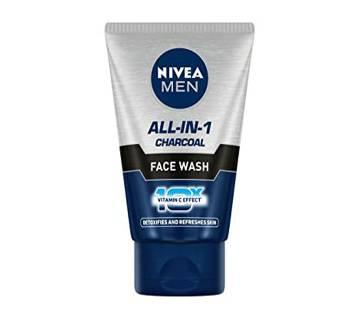 Nivea Men All-in-1 Face Wash 100g-(5% VAT Included on Price)-3009588