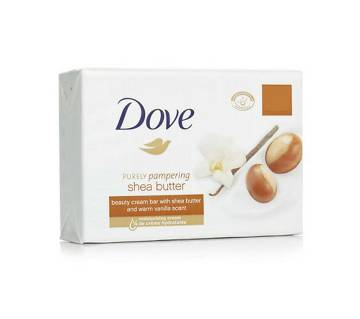 Dove Shea Butter Cream Soap 135g-(5% VAT Included on Price)-3010445