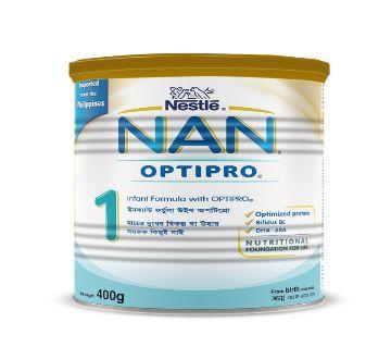 Nestle NAN-1 400 gm Tin-(5% VAT Included on Price)-2200014