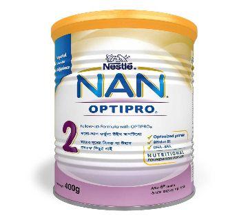 Nestle NAN-2 400 gm Tin-(5% VAT Included on Price)-2200015