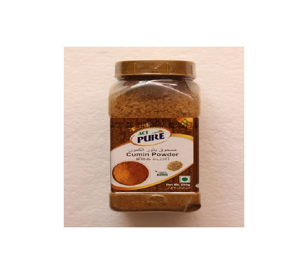 এসিআই পিওর জিরার গুঁড়া 200g (Jar)-(5% VAT Included on Price)-2702904 বাংলাদেশ - 1132587