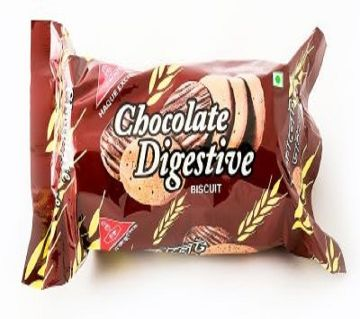 Haque Chocolate Digestive Biscuits 145g-(5% VAT Included on Price)-2802991