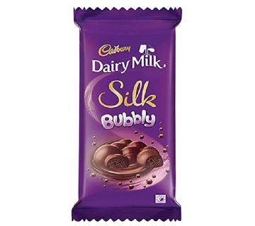 Cadbury Dairy Milk Silk Bubbly 120g-(5% VAT Included on Price)-2809333