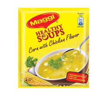 Maggi Healthy Soup Corn w/chicken 25gm-(5% VAT Included on Price)-2800272