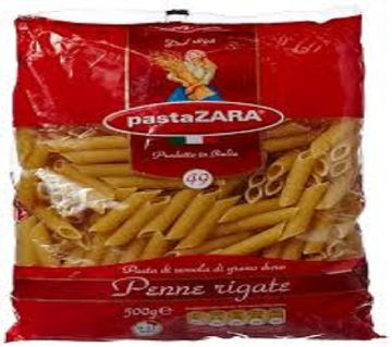 Pasta Zara Penne Rigate 500gm-(5% VAT Included on Price)-2804221