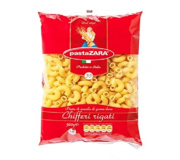 Pasta Zara Chifferi Rigati 500gm-(5% VAT Included on Price)-2804222