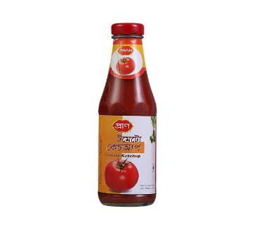 Pran Tomato Ketchup 340 gm-(5% VAT Included on Price)-2700043