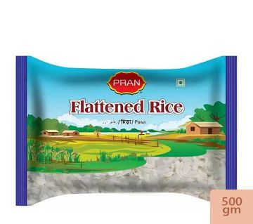 PRAN Flattened Rice(CHIRA)500gm-(5% VAT Included on Price)-2804999
