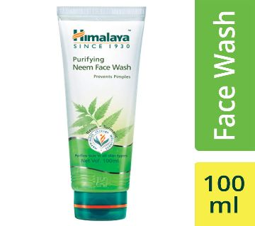 Himalaya Purifying Neem Face Wash 100ml-(5% VAT Included on Price)-3002910
