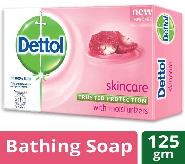 Dettol Soap Skin Care 125gm-3005448