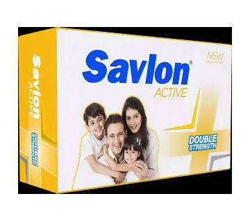 :Savlon Antiseptic Soap Active 125g-(5% VAT Included on Price)-3013684