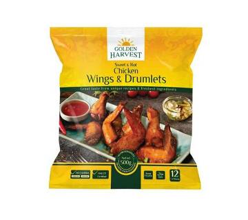 Golden Harvest Sweet & Hot Wings and Drumlets 500g