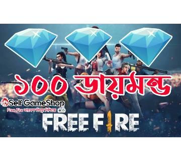 TopUp 100 Daimond Free Fire