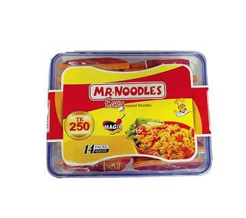 Mr. Noodles - 14 pcs (Free Container)
