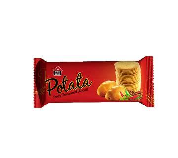 Pran Bisk Club Potata Biscuit - 100 gm (Spicy Flavoured)